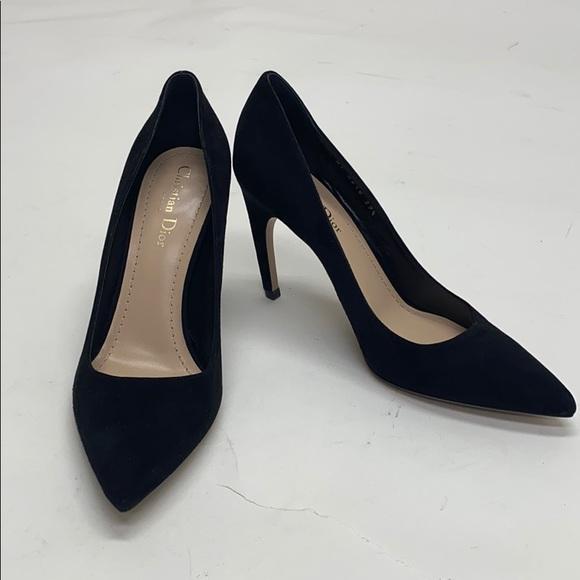Black Christian Dior heel pumps